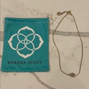 Kendra Scott Tess Gold Iridescent Drusy